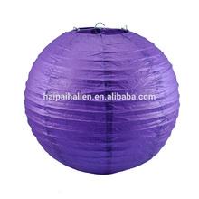 Plum Purple 14 Inch Round Premium Paper Lantern Chinese Holiday paper lantern