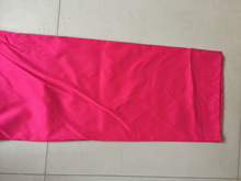 solid color micro fiber fabric for making bed sets/288F microfiber dyed quilt fabric with solid color for hotel