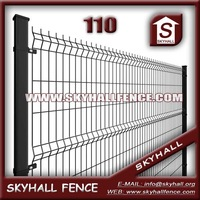 Direct Factory Price Bamboo Fence Panel Garden Metal Fence With A Series Of Sizes