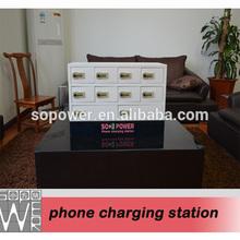 usb port smart desktop ev charging station