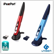 Hot slaes iPazzPort wireless pc pen air mouse from factory