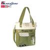 OEM production women fashion cotton canvas tote bag 2014 (PK-11127)