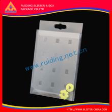 Clear printed Phone case Box.Plastic PVC box for phone case.Cell .Phone case Box