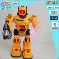 การต่อสู้ของเล่นหุ่นยนต์ของเล่นหุ่นยนต์ด้วยเสียงและดนตรีการทำ