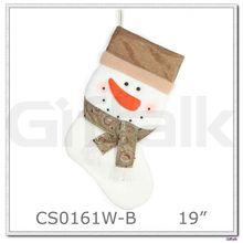 2015 Snowman Christmas Stocking