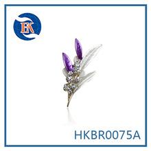 beautiful rhinestone orchid brooch jewelry