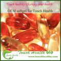 العرض حمض الهيالورونيك touchhealthy كبسولة، شهادة gmp الكالسيوم سوفتغيل تكملة التغذية