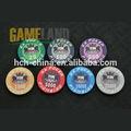 Qualidade Casino personalizado cerâmica Poker Chip