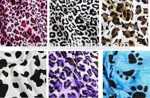 impresso pv pelúcia made in china baratos 100 polar de poliéster tricô tecido