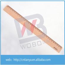 Wood ruler manufacture supply 30cm wooden ruler