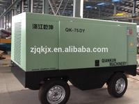 hot sale 75kw electric portable air compressor high pressure breathing air compressor