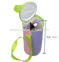 (XHF-TOOL-016)promotional insulated wine bottle cooler neoprene bottle holder for wine beer