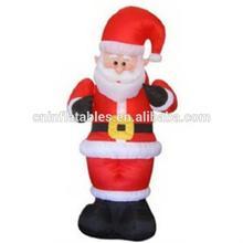 Christmas Decor Animated Holiday Inflatable 8' Feet Santa Claus Head Arm Move