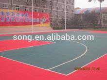 PP suspended interlocking sports flooring for futsalcourt
