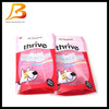 Alibaba China hot sale pet food bags with zip lock