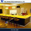 Modern solid surface light bar counter top/bar counter
