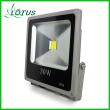 remote control outdoor 30w rgb led flood light basketball court flood lights