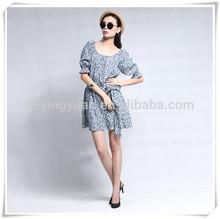Fall & summer half Sleeve Lined SWALLOW GIRD Woman Dress