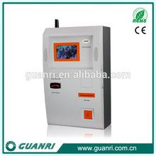 7 inch touch screen coupon print kiosk, coupon print kiosk manufacturer,touch screen LCD digital wall mounted kiosk -GUANRI K01