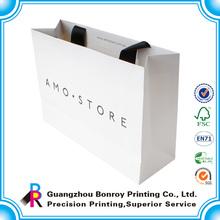 2014 Customized wholesale large paper foldable shopping bag