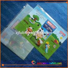 pvc book pouch