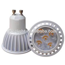 factory price CE RoHS SMD3030 gu10 2700k 5W LED spot light gu10 dimmable