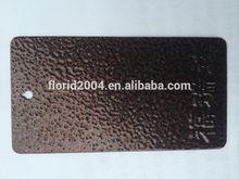 Spray paint Florid ELectrostatic Hammer Texture Spray powder coating in powder coating equipments