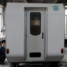 Van RV Camper with Machine Made Continous FRP Sheet