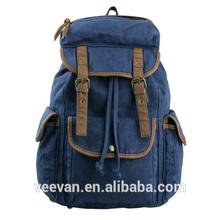 30- 40L tuval moda okul çantaları, kaliteli okul çantaları, toptan okul çantaları