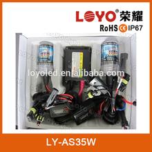 high quality hid xenon kit 35w AC slim car hid xenon kit h7 6000k xenon super vision hid conversion kit