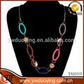 2014 nuevos productos de moda las mujeres gargantilla colgante joyas de oro gargantilla collar de cadena