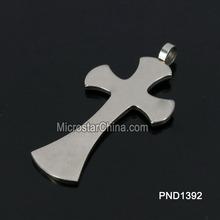 202L 45*26*2mm Stainless Steel Pendant Tibetan Cross