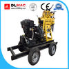DLX-130 drilling depth 130m deep small water well drilling machine