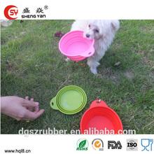 pet sensor silicone water bowl