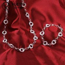 Handmade Chunky Chain Mixed Eco-frendly Costume Jewellery Sets