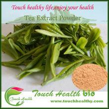 Touchhelathy supply 100% pure organic bio green tea extract.natural green tea extract powder