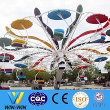 new design adult entertainment double flying for amusement park