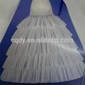 Women gown dress long floor underwear wedding dress petticoat,white bridal petticoat