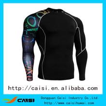 2014 sports compression wear running wear running shirts