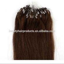 2014 Best Selling Wholesale Human Hair Extensions Easy Loop Micro Ring Hair Extension