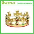 atacado personalizado de jóias de ouro príncipe rei ou rainha da coroa