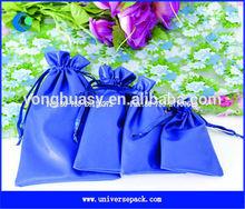 drawstring pu leather golf bag