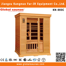 3 person far infrared wooden adult sauna massage room