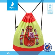 large custom printed Spain style drawstring shoe bag,storage bag