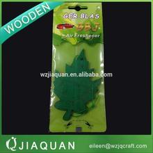 Various styles custom scented wooden air freshener