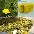 Naturale di semi di zucca, verde e non-inquinamento