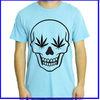 2014 custom design funny skull fashion men t shirt wholesale china