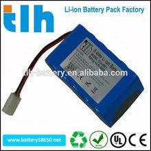 Rechargeable military battery pack 14.8v 6600mah li-ion battery 14.8v