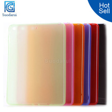 Mix colors New Matte soft Gel TPU Cover Case for iPad Air 2