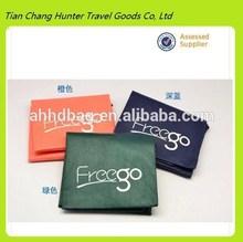 2014 promotional cheap folding nonwoven travel shoe bag
